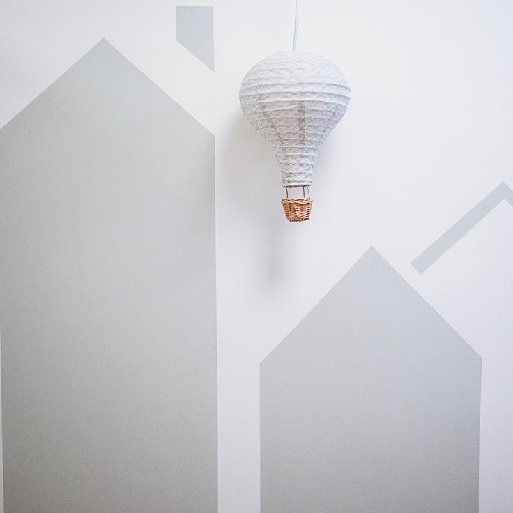 Air balloon lamp from Cam Cam Copenhagen. Made of organic cotton :-)