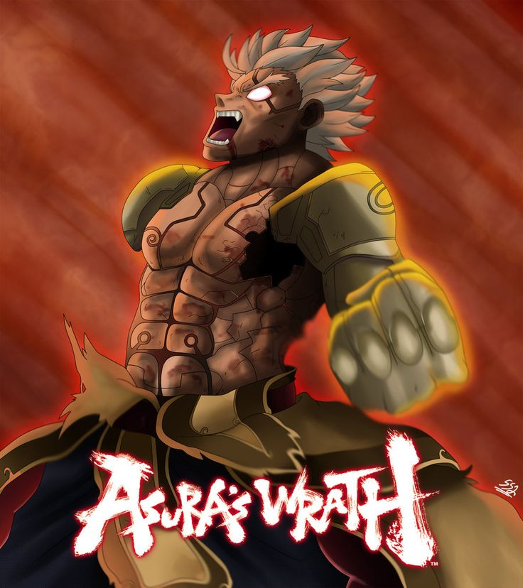 Asura Wrath by ss2sonic