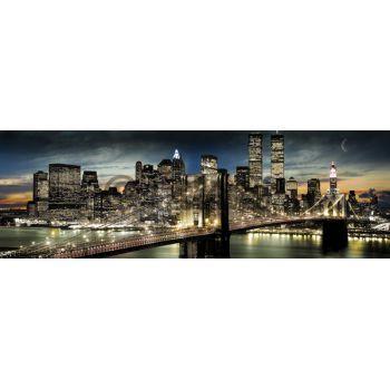 XENOS Poster: New York - manhattan night and moon online te koop. Bestel je poster, je 3d filmposter of soortgelijk product Jumbo Poster
