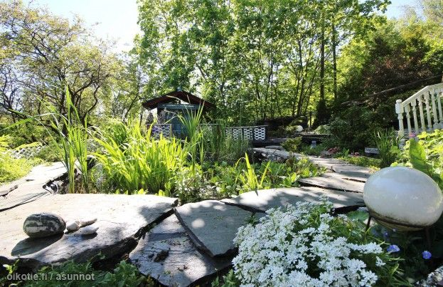 Myytävät asunnot, Potkelantie 11, Paimio #oikotieasunnot #puutarha #garden