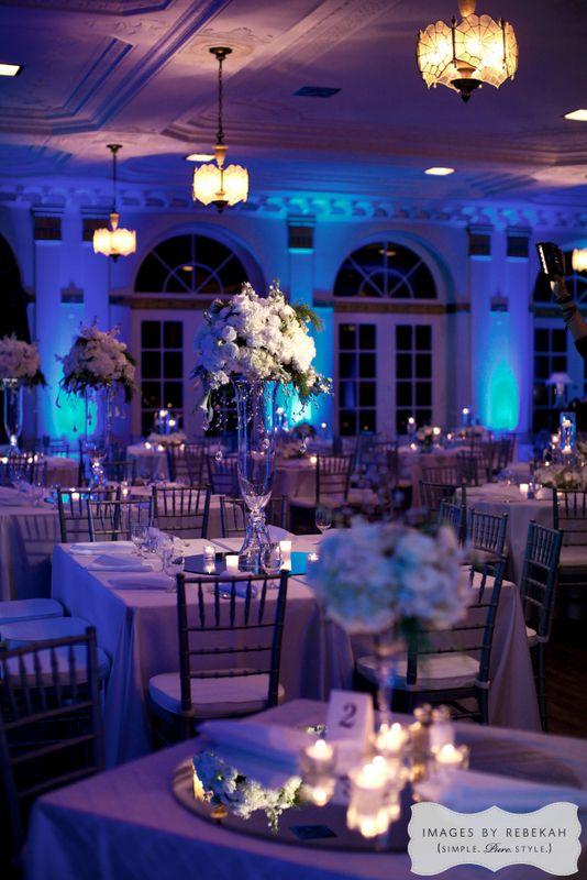 21 winter wedding blue and white wedding ywca ft worth wedding