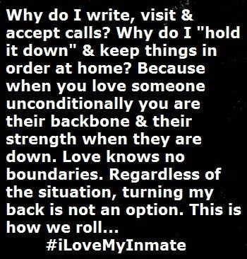 I Love You Quotes For Him In Jail : inmate love prison life in prison prison quotes wife quotes missing ...