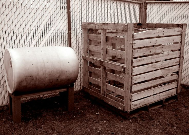 DIY Pallet Compost | Fabulessly Frugal: A Coupon Blog sharing Amazon Deals, Printable Coupons, DIY, How to Extreme Coupon, and Make Ahead Freezer Meals