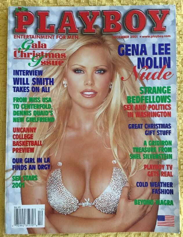Playboy December 2001-A Gena Nolin - Bebe Buell - Shanna Moakler - Will Smith!!! | eBay