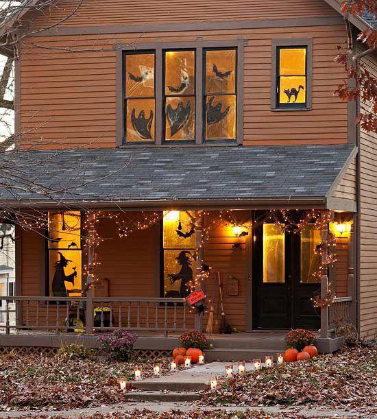 gruselige Haus Deko Ideen Halloween