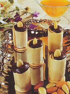 vcielkaisr-mojerecepty: Mandľové sviečky