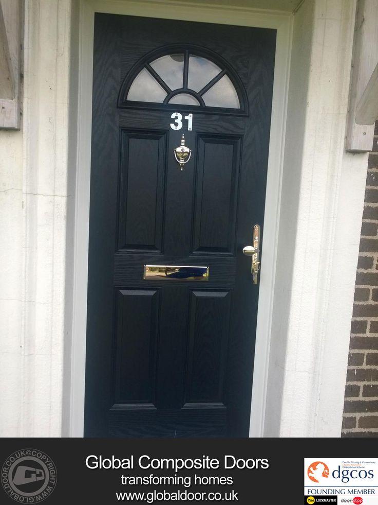 Black-4-Panel-Sunburst-Global-Composite-Door-8