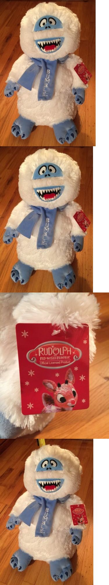 Rudolph 95252: New Bumble Abominable Snowman 17 Stuffed Plush Greeter Stand Rudolph Red Nosed -> BUY IT NOW ONLY: $49.99 on eBay!