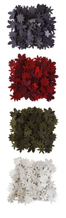 These are rugs from Tord Boontje - I'm in love with them!