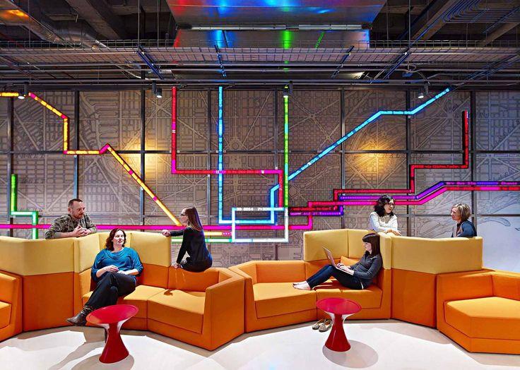 Take A Tour Of Motorola Mobilitys Gorgeous Chicago Headquarters Commercial DesignChicago