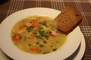 ドイツ風じゃがいものスープ