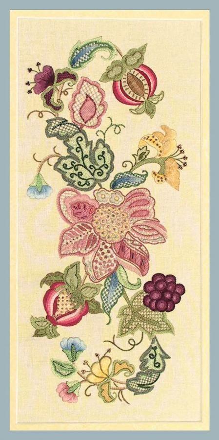 Jacobean 10 Fabric & Pattern by Hazel Blomkamp
