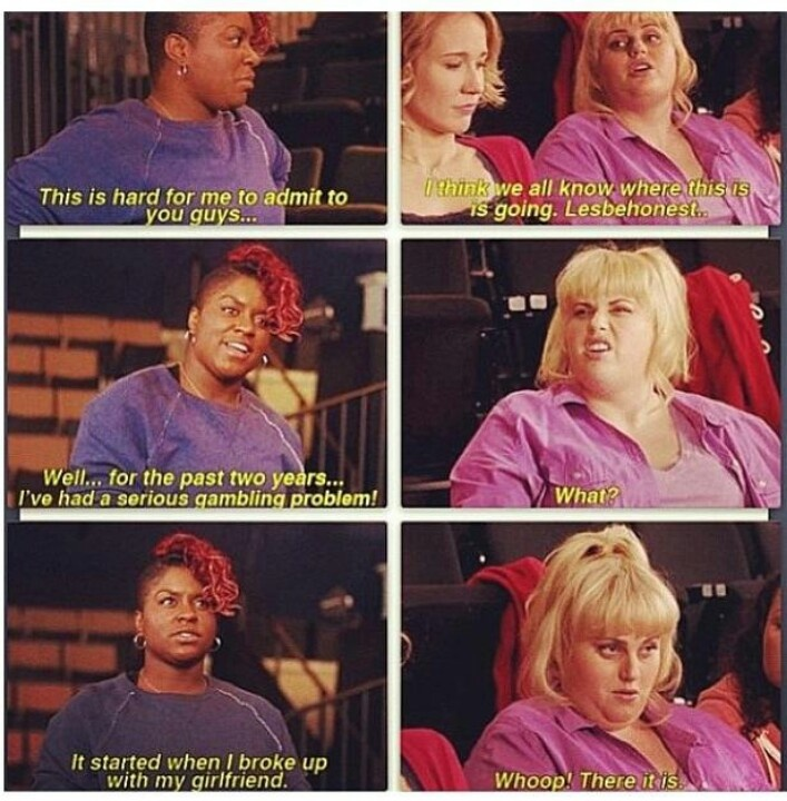 Funniest Line From That Movie Funnies And Loves Pitch Perfect