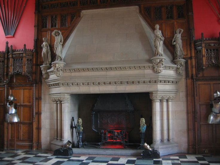 Medieval Castle Fireplace Scotland Hearths Fireplaces