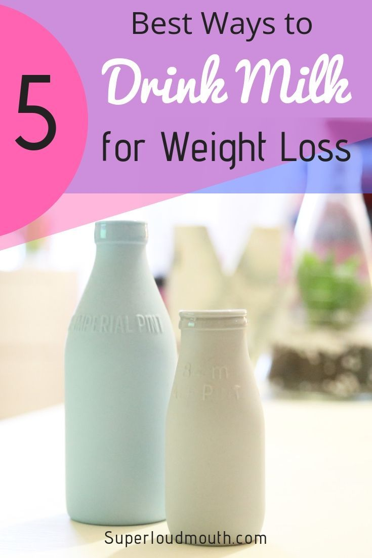 What milk is best for weight loss