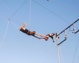Trapeze, Learn the Flying Trapeze - Moore Park, Sydney