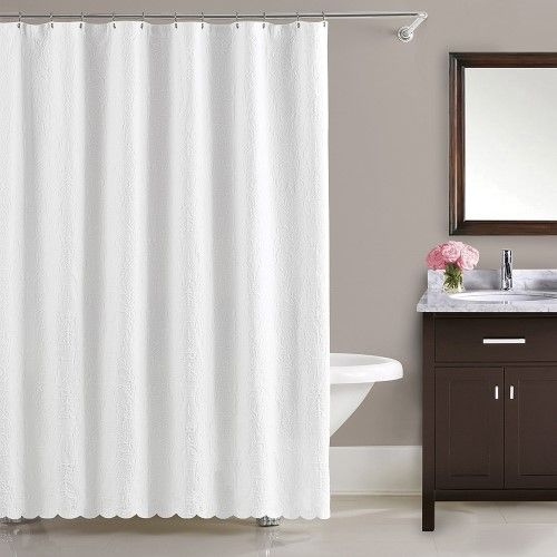 Lamont Home Majestic Shower Curtain White Products