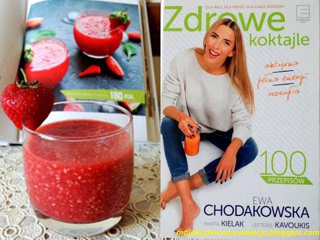 Moje                                                                       Kuchenne Rewelacje  : Koktajl arbuzowy z truskawkami i recenzja książki ...