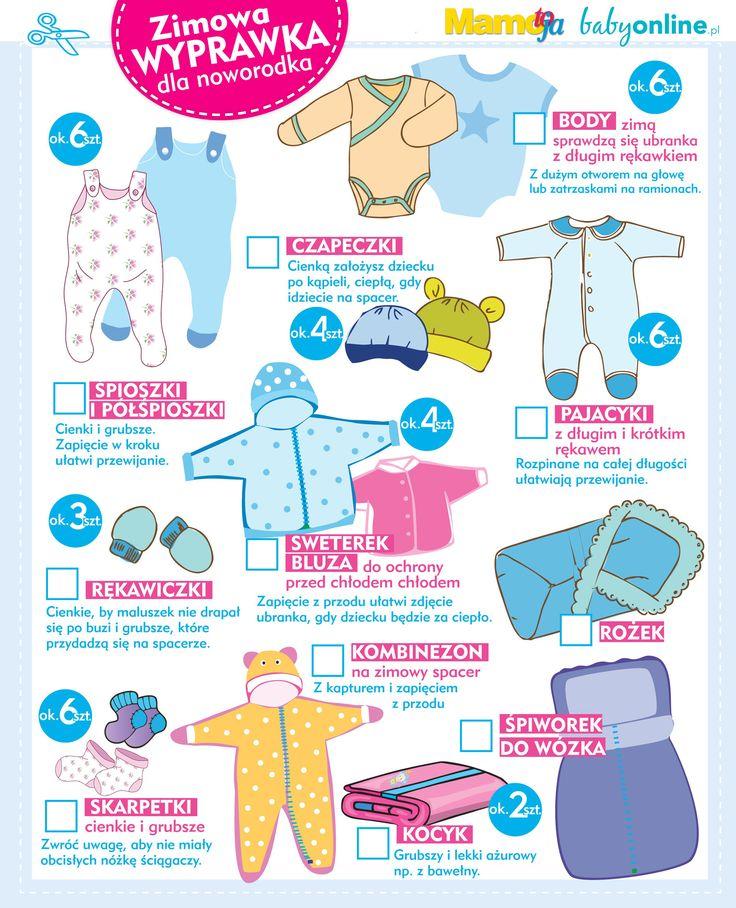 Zimowa wyprawka noworodka: jakie ubranka na zimę dla dziecka | Baby online