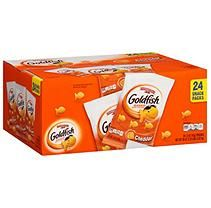 Pepperidge Farm Goldfish Cheddar Baked Snack Crackers (1.5 oz., 24 ct.)