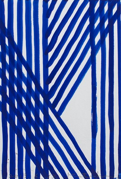 Blue stripes pattern by Japanes textile brand SOU · SOU | www.sousou.co.jp