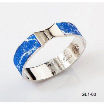 """""""Azul... y es que este amor es azul como el mar azul.."""" http://www.tutunca.es/pulsera-azul-brillante-plata-glitter-daferro"""