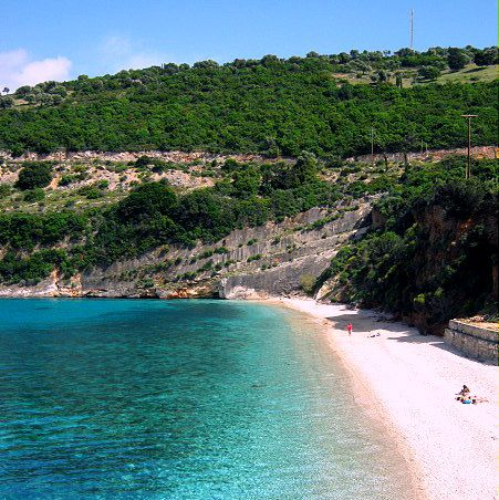 Zakynthos (Zante) in Greece, Makris Gialos beach