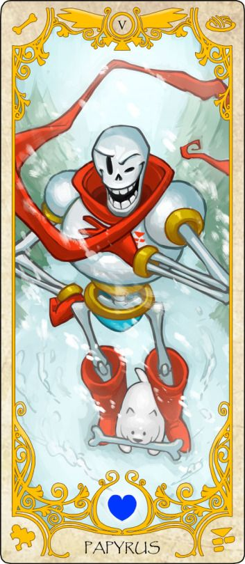 I, THE GREAT PAPYRUS, WILL CAPTURE YOU HUMAN! ((Lol sorry I had to its Papyrus XD))