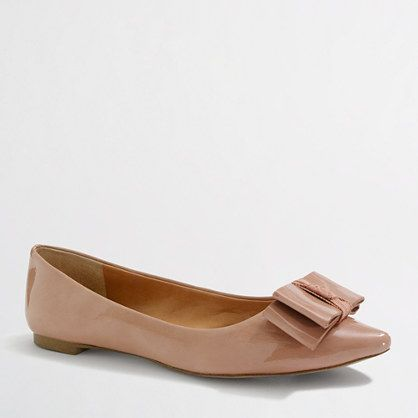 J Crew Factory Emery flats...much cheaper, probably much more comfortable version of the Coach Wendy flats! I just bought the nude and the black versions
