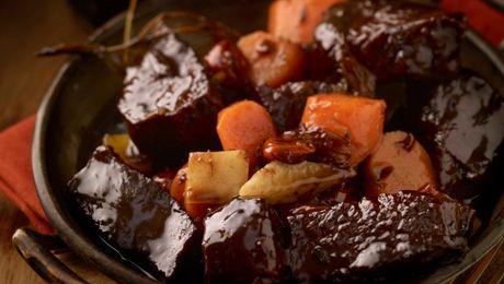 Beef & Irish Stout Stew #IrishStew