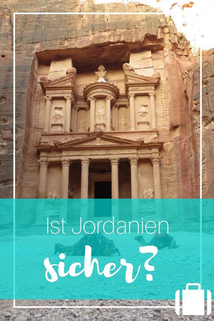 Eine Jordanien Reise ist voller Highlights. Die Felsenstadt Petra, die Wüste Wadi Rum und das tote Meer... Ist Jordanien als Urlaubsziel wirklich sicher?