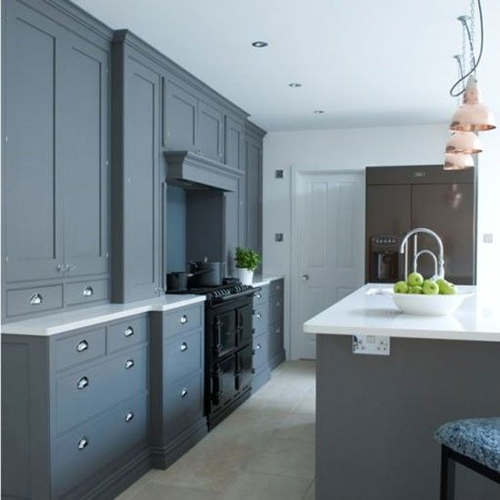 Grey Painted Kitchen Cabinets: 1000+ Ideas About Grey Ikea Kitchen On Pinterest