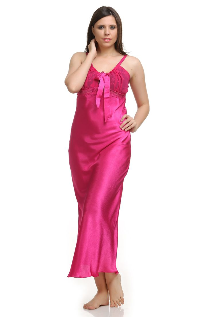 91 best Satin Silk images on Pinterest   Gown dress, Nightgowns and ...