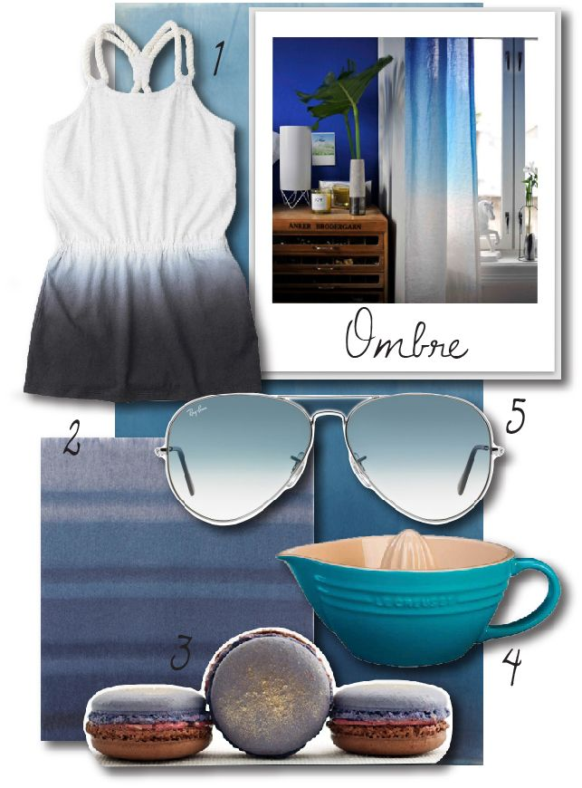 Ombre and blue trends by bthings.me