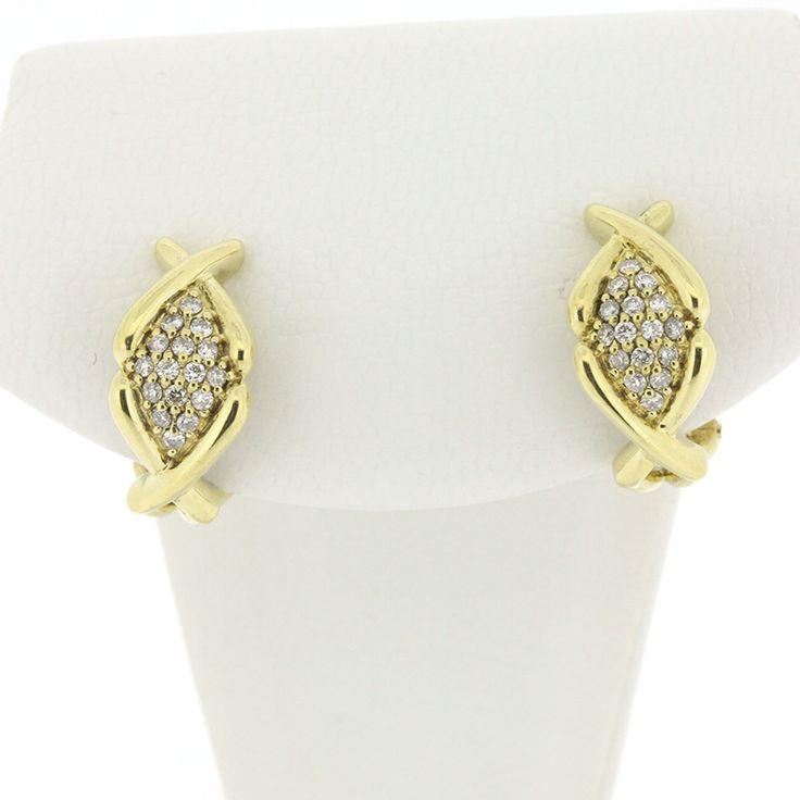 【商品名】K18 ゴールド ダイヤ 0.13×2ct ピアス【価格】¥49,800【状態】SA  2、3回使用程度の非常に綺麗な状態の商品です。