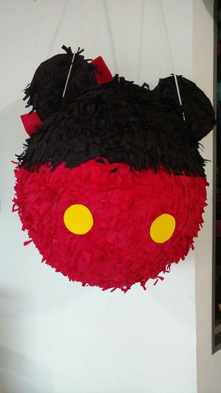 Piñata doble faz Mickey Mouse