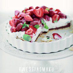 Tarta z truskawkami | Kwestia Smaku