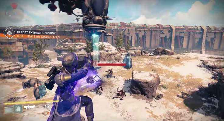 New Destiny trailer shows working with other players and class systems