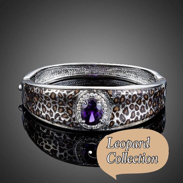 Bangle animal print bracelet kod 820216