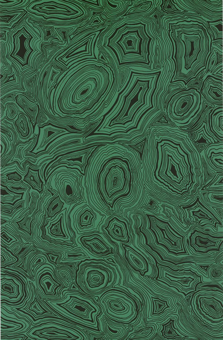 Trend Watch: Malachite Patterns for Interiors