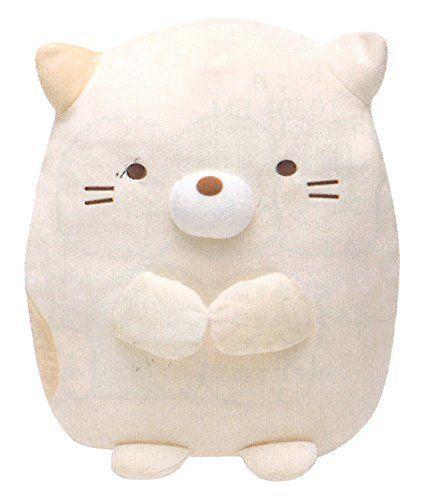 New Sumikko Gurashi Stuffed Soft Toy Animal Doll L Neko(Cat) Gift Plush | eBay