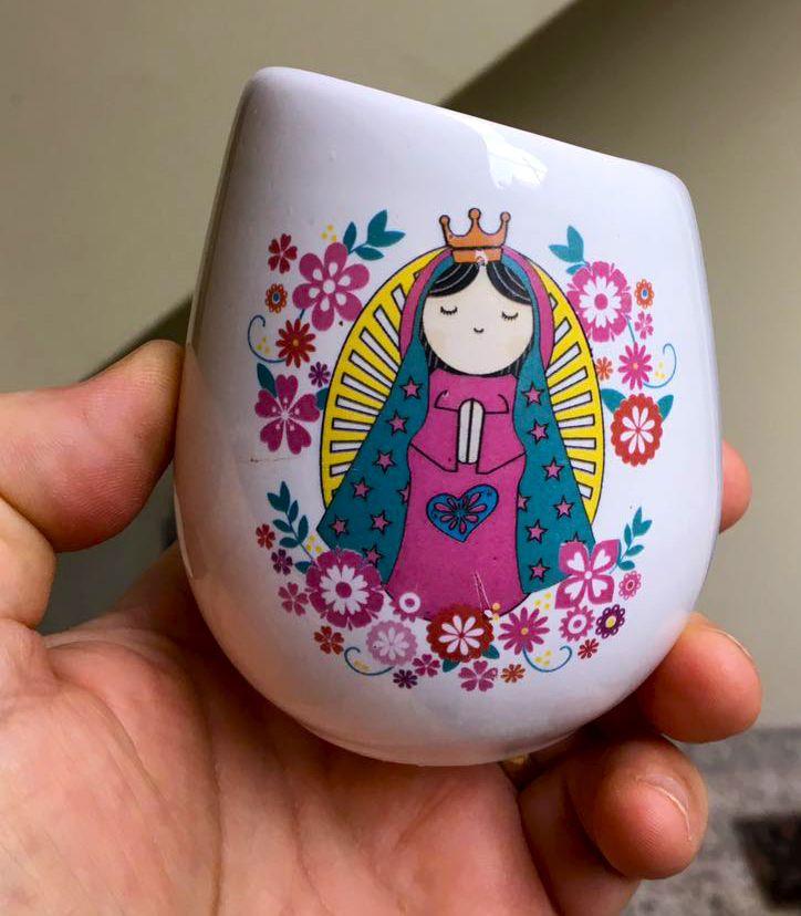 Calco vitrificable full color personalizado para souvenir de nacimiento a partir de diseño del cliente (foto cortesía de Felisindo ReproArt).