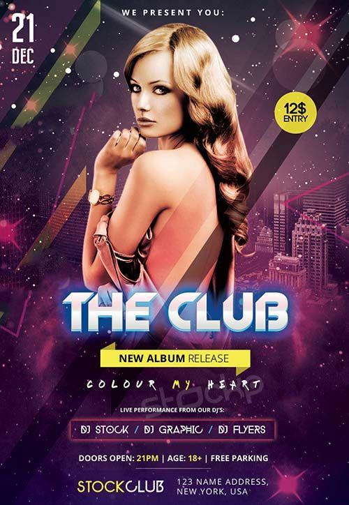 The Club Free PSD Flyer Template - http://freepsdflyer.com/the-club-free-psd-flyer-template/ Enjoy downloading the The Club Free PSD Flyer Template created by Stockpsd!  #Club, #Desgin, #Dj, #EDM, #Electro, #Elegant, #Event, #Festival, #Minimal, #Nightclub, #Party, #Simple