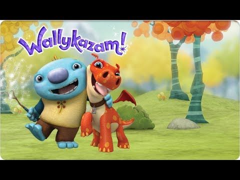 Wallykazam full episodes - Wallykazam learning English - Wallykazam nickelodeon game Wallykazam full episodes - Wallykazam learning English - Wallykazam nickelodeon game Wallykazam! is an animated interactive comedy for preschoolers centered on the adventures of Wally Trollman and his pet dragon Norville.  Wally and Norville live in a mythical forest among giants goblins ogres sprites and fantastical creatures of every shape and size. But Wally has a power like no other; using his magic…