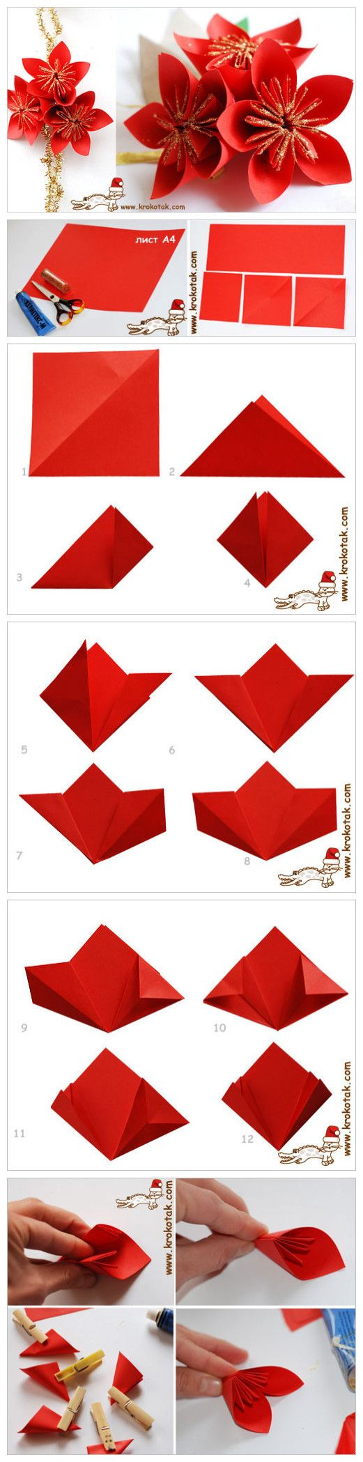 25 best ideas about origami flowers on pinterest paper for Diy paper lotus candlestick