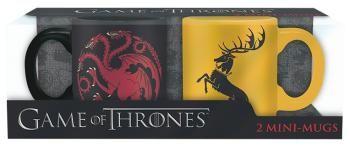 Targaryen & Baratheon - Set Espressokopjes - Mokken set van Game Of Thrones