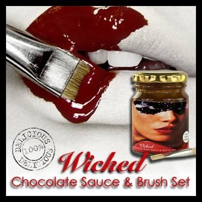 Wicked Chocolate Sauce & Brush Set