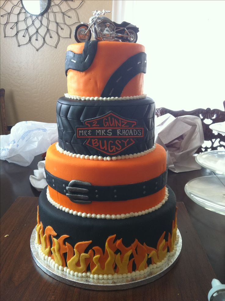 harley davidson wedding cake ideas harley davidson wedding cake bittersweet cake boutique 15073