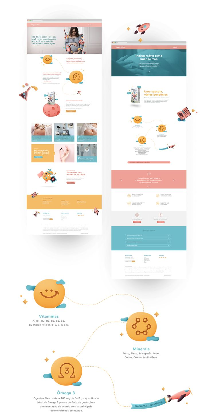 Ogestan PlusOgestan Plus is a prenatal vitamin by Besins Healthcare.The challenge was to illustrate the product benefits for the moms-to-be in an easily understandable way.Based on that, we developed cheerful and clear communication pieces including k…