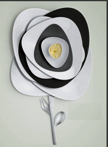 Karibu Italy's plate sets offering from - Alessi - Coming Soon!